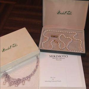 "Mikimoto 30"" Pearl Necklace"